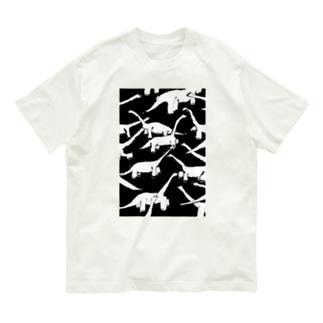 密なブラキオサウルス Organic Cotton T-shirts