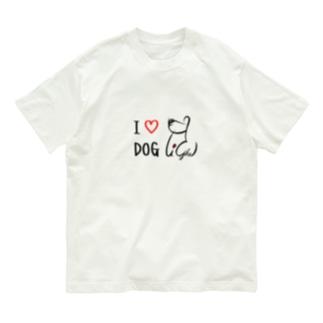 I ♡ DOG Organic Cotton T-shirts