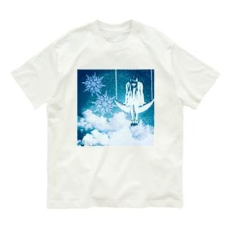 snow moon Organic Cotton T-shirts