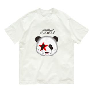 メタルヘッドパンダ Organic Cotton T-Shirt