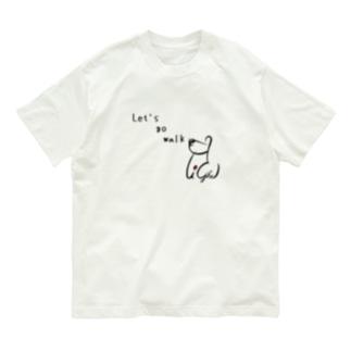 Let's go walk Organic Cotton T-shirts