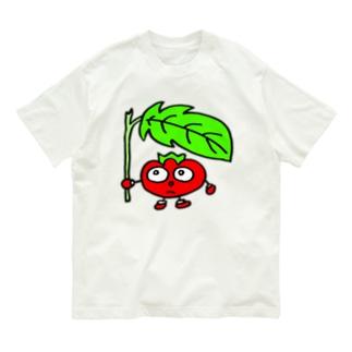 急な雨 Organic Cotton T-shirts