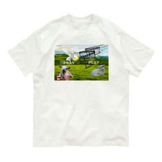 PLAY→PRAY Organic Cotton T-shirts