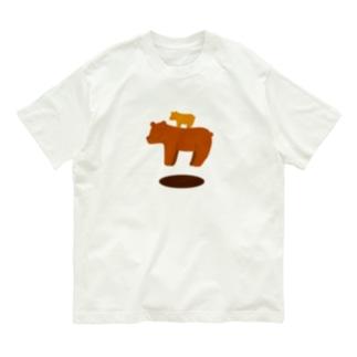 おやこうきくま Organic Cotton T-shirts