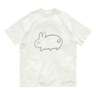 うさぎのおけつ Organic Cotton T-shirts