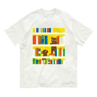 本棚くまさん Organic Cotton T-Shirt