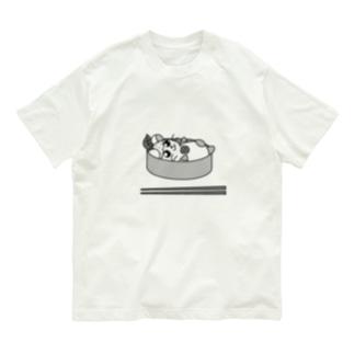 うめゆずハムくん Organic Cotton T-shirts