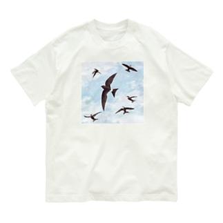 アマツバメ Organic Cotton T-shirts