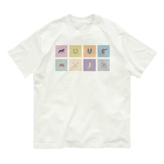 ウマグラム アイコン  シカク Organic Cotton T-shirts