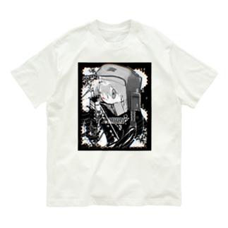 cutting Organic Cotton T-shirts
