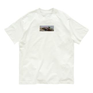道端の花たち Organic Cotton T-shirts
