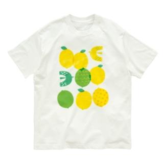 レモンと鳥 Organic Cotton T-Shirt