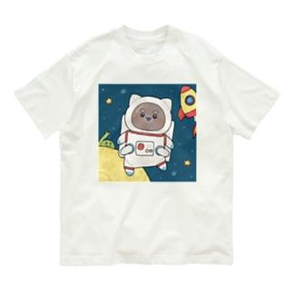 宇宙飛行士ぽちさん Organic Cotton T-shirts