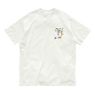 もふもふな猫 Organic Cotton T-shirts