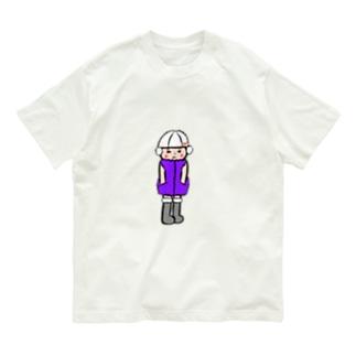 冬服スイスイちゃん Organic Cotton T-shirts