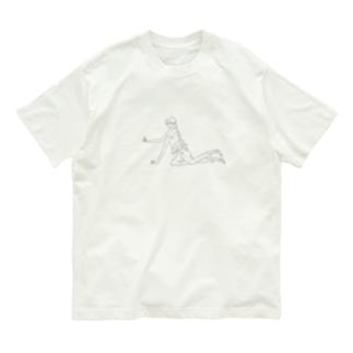 女の子少女♀(女) Organic Cotton T-shirts