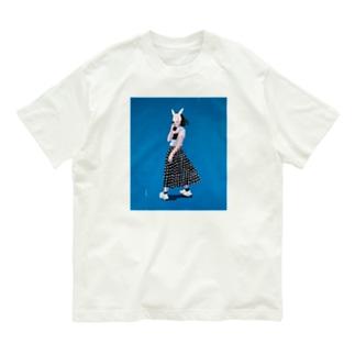 blue girl Organic Cotton T-shirts