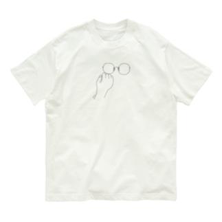 めがね Organic Cotton T-shirts