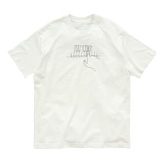ピアノ Organic Cotton T-shirts