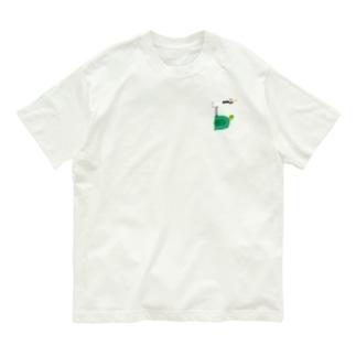 えんぎものすうじ 5 つるとかめ Organic Cotton T-shirts
