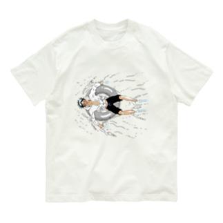 胡桃澤と浮き輪 Organic Cotton T-shirts
