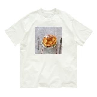 実家のホットケーキ Organic Cotton T-shirts