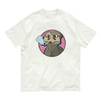 ミーアキャットのミーアさん Organic Cotton T-shirts