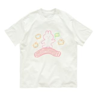 カニカマに乗ってGO Organic Cotton T-shirts