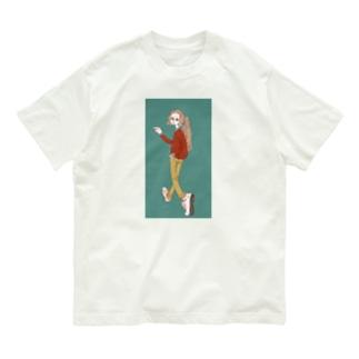 女の子 Organic Cotton T-shirts