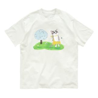 おにぎり祭りうり Organic Cotton T-shirts