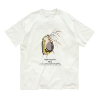 真面目なミジンコ♂ Organic Cotton T-shirts