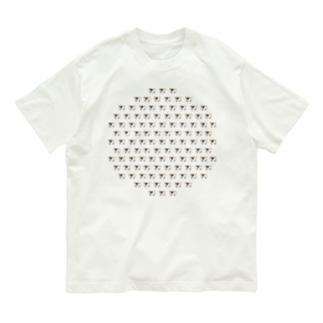 びわちゃんだらけ Organic Cotton T-shirts