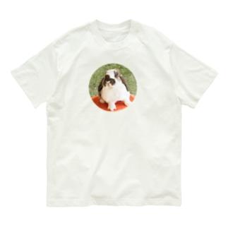 芝生でりんちゃん Organic Cotton T-shirts
