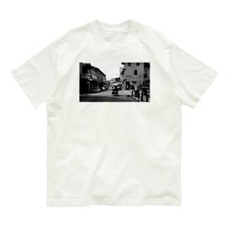 東南アジアまち歩き〜ペナンの物売り Organic Cotton T-shirts