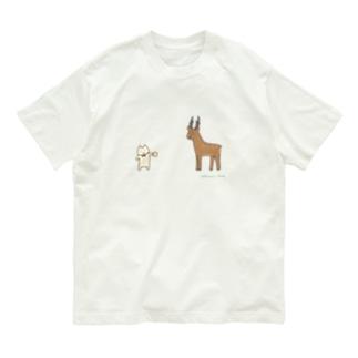 鹿との遭遇…!! Organic Cotton T-shirts