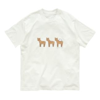 鹿さんの上でスヤヤ Organic Cotton T-shirts