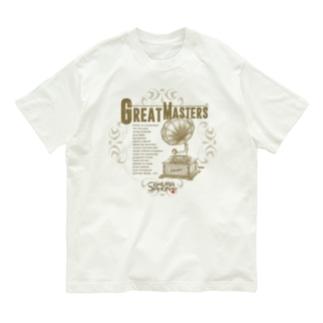 レトロ蓄音機 AD Organic Cotton T-Shirt