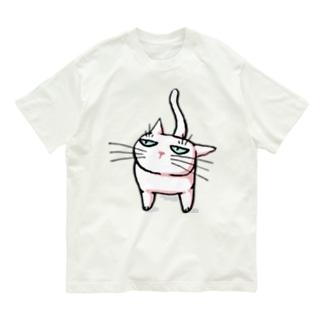 みあげるしろねこ♪ Organic Cotton T-shirts