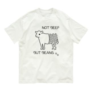 NOT BEEF, BUT BEANS Organic Cotton T-shirts
