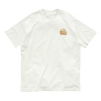 コロッケわんこパン Organic Cotton T-shirts