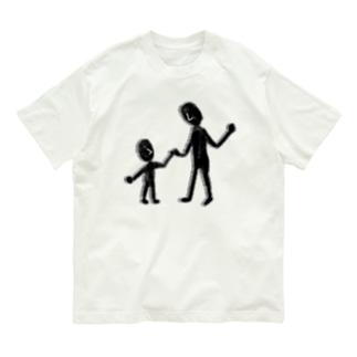 仲良しな2人(大) Organic Cotton T-Shirt