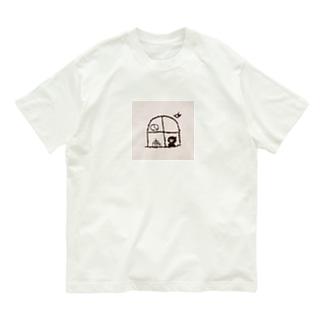 喫茶灯火(窓辺) Organic Cotton T-shirts