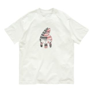 クロアカネコ Organic Cotton T-shirts
