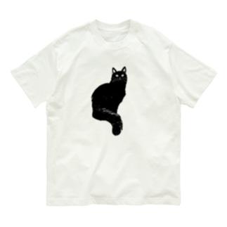 長毛になりつつあるおこげちゃん Organic Cotton T-shirts