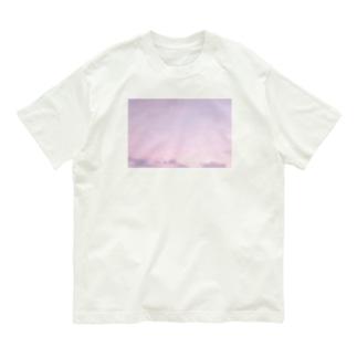 Purple Sunset Organic Cotton T-shirts