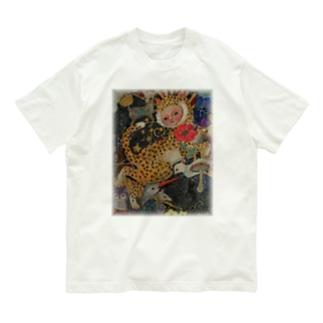 lucky cat Organic Cotton T-shirts