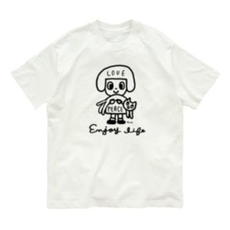 love & peace Organic Cotton T-shirts