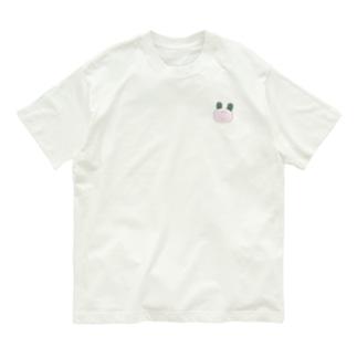 みみがわかめのうさぎ(むなもと) Organic Cotton T-shirts