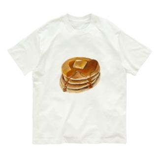 パンケーキ Organic Cotton T-shirts