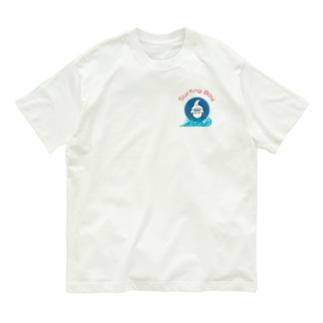 Surfing Boy 波ロゴ Organic Cotton T-shirts